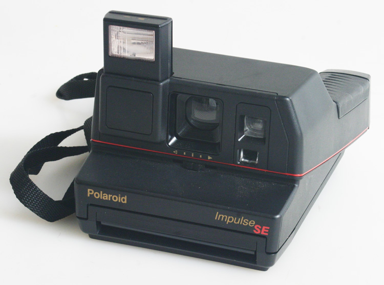 POLAROID IMPULSE SE 600 SERIES INSTANT FILM CAMERA WITH STRAP (ops010413) da30983572a7