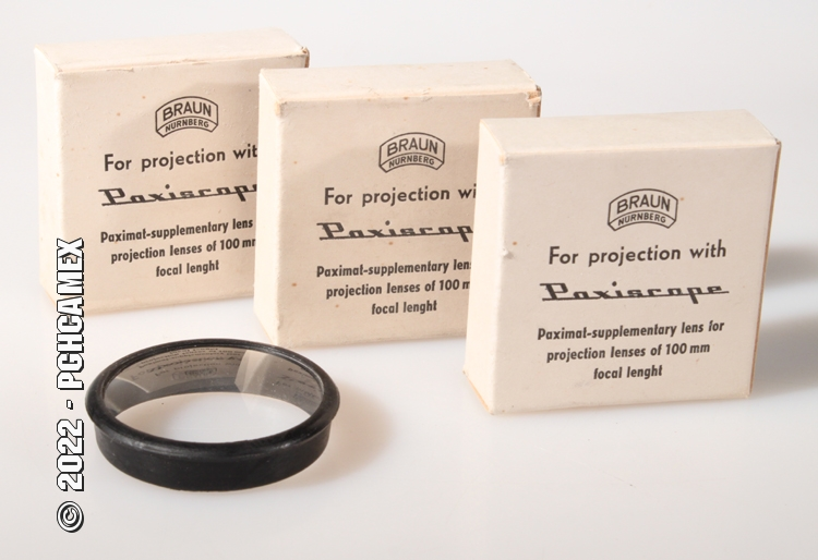 PAXISCOPE-SUPPLEMENTARY FOR 100MM LENS