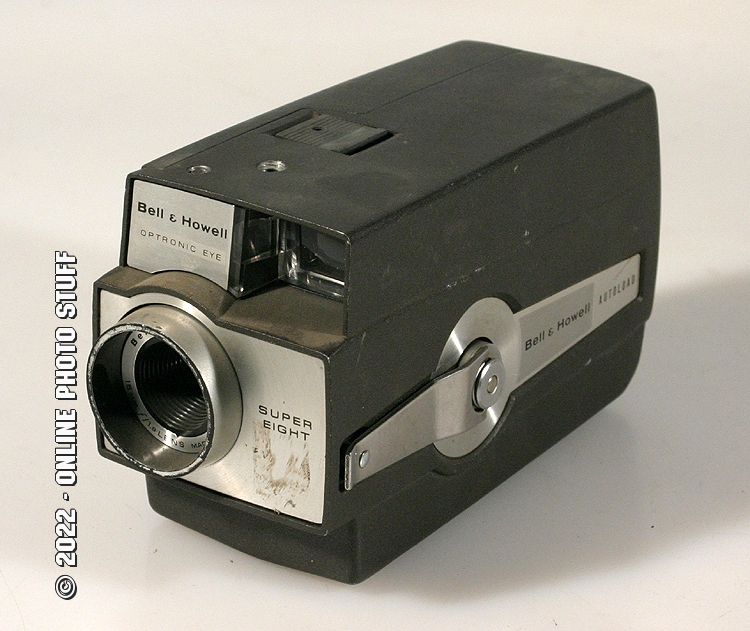 Details about BELL AND HOWELL OPTRONIC EYE SUPER 8 MOVIE CAMERA